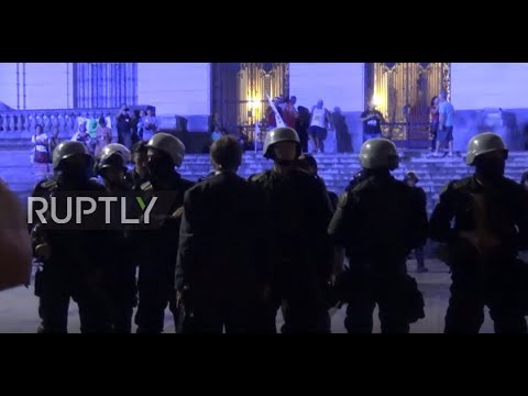 Brazil: Protesters hit Rio's streets after military take control of law and order