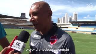 Desafio: Amizade e respeito no encontro de técnicos de Goiás e Vila Nova