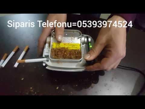 Elektrikli Sigara Sarma Makinesi Profesyonel