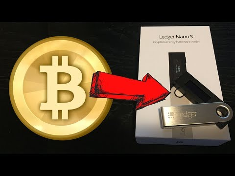 HOW TO STORE BITCOIN ON A LEDGER NANO S (Hardware Wallet)