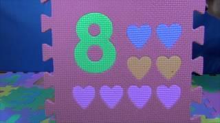 Цифры для детей. Фигуры для детей.Учим цвета