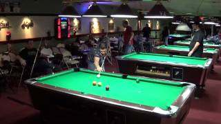 Jeff Holloway vs. Kevin West  9 Ball Event