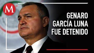 Detienen a Genaro García Luna en EU
