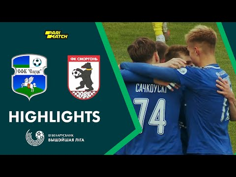Slutsk Smorgon Goals And Highlights