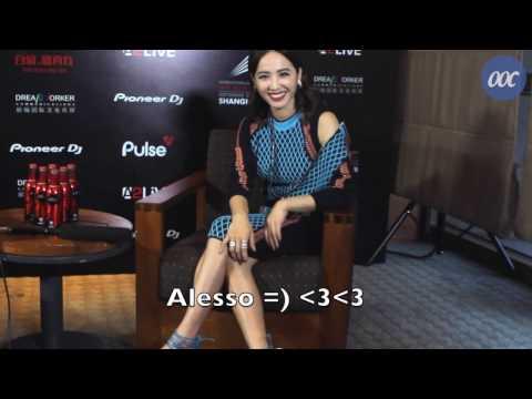 蔡依林談論她與型男DJ Alesso 的合作 | Jolin Tsai Taks About Her Collaboration With Alesso