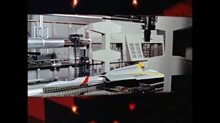 ウルトラセブン - ウルトラホーク1号発進プロセス完全版(和訳付き)