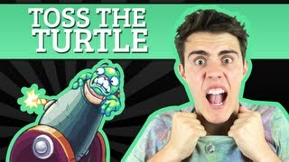 Toss Your Turtle + Zoella | AlfieGames