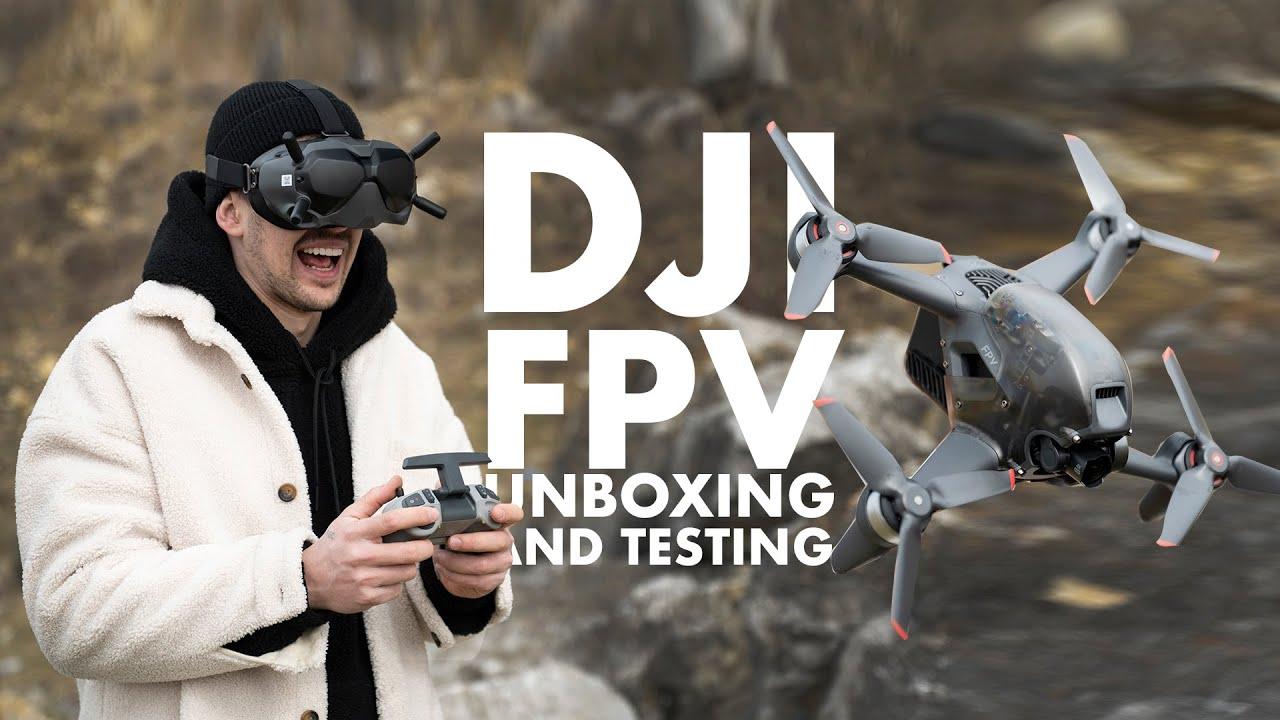 Download DJI FVP Drone, DID I JUST CRASHED IT!?