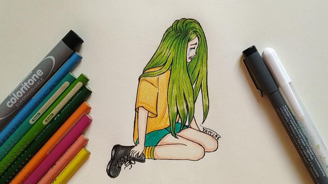 Como Desenhar Garota Triste Passo A Passo Como Dibujar Chica