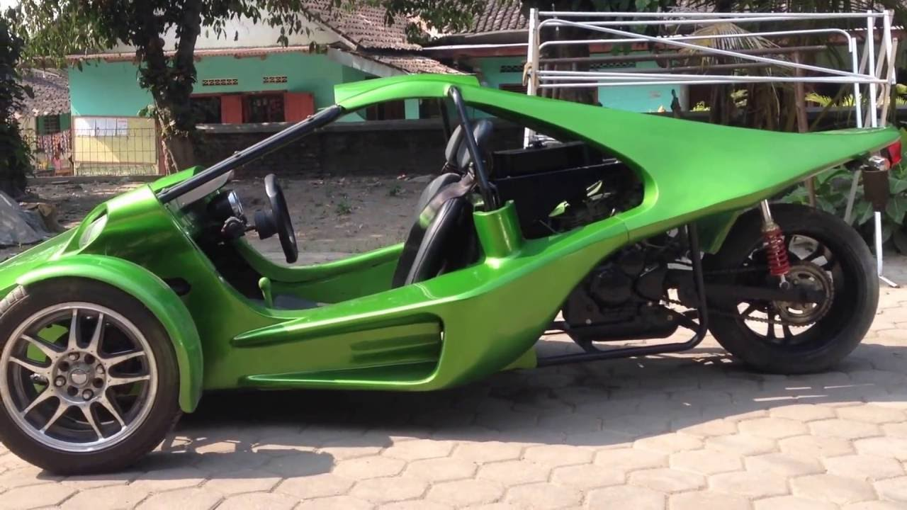 Desain Modifikasi Motor Jadi Mobil Konsepmodif