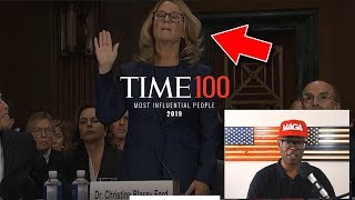 Time Magazine Top 100 List 2019 - Why is Christine Blasey-Ford Here?