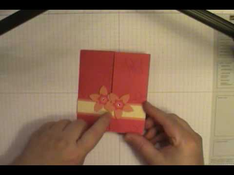 Papercraft Secret Door Technique Card