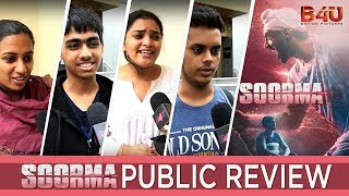 Soorma Public Review | Jhakaas Ya Bakwaas | Diljit Dosanjh, Taapse Pannu | B4U Motion Pictures