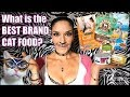 What BRAND of Cat Food is best to feed your cat (or is Raw Cat Food REALLY the best option)?!