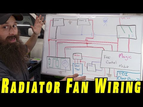 Understanding How To Wire Electric Cooling Fans - YouTube on 24 volt thermostat wiring diagram, flex fuel wiring diagram, starter relay wiring diagram, flex-a-lite fan controller, msd ignition wiring diagram, flex-a-lite fans for street rods, electric cooling fan circuit diagram, automotive relay wiring diagram, alternator wiring diagram, double pole relay wiring diagram, 87a relay wiring diagram, bathroom electrical diagram, push button starter wiring diagram,