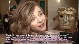 Chloe Moretz Children's BAFTA Awards 2010 interview | Русские субтитры