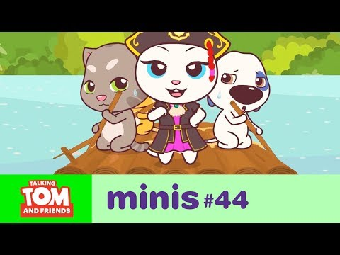 Talking Tom and Friends Minis - Angela on Mystery Island (Episode 44)