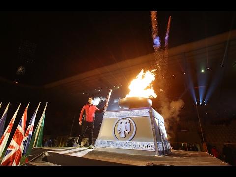 Torch of EYOF 2017 Erzurum is Lit