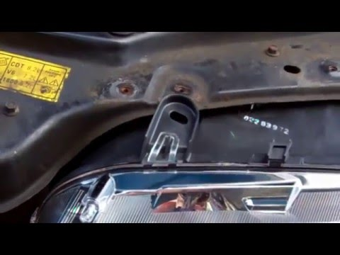 How To Fit Projector Headlamps In Rover 75 Mgzt Youtube