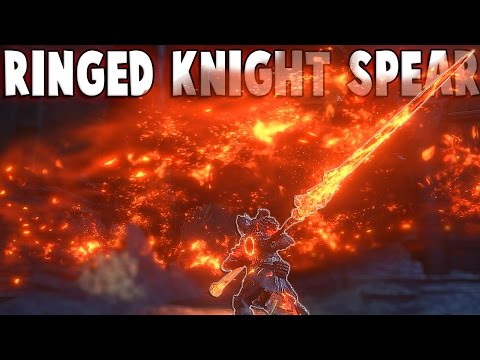 Dark Souls 3 DLC Weapons: Ringed Knight Spear PvP - Is It Even...Good? (The Ringed City)