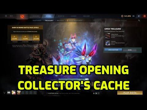 Treasure Opening Collector's Cache 2020   Mirana Ultra Rare?