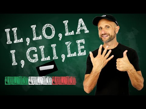 Learn Italian Articles - best video ever - improve your Italian grammar