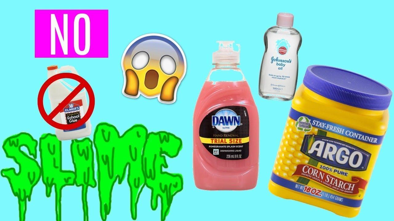 Diy no glue no borax slime using cornstarch baby oil dish soap diy no glue no borax slime using cornstarch baby oil dish soap ccuart Image collections