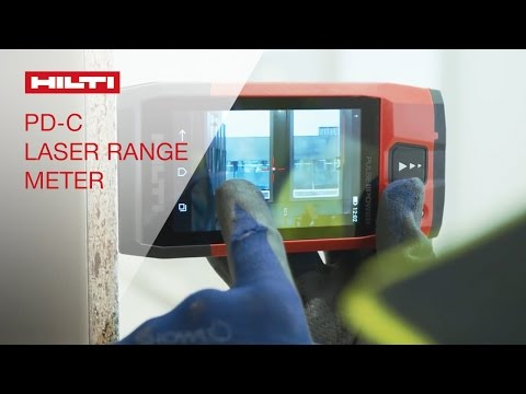 INTRODUCING The Hilti Laser Range Meter PD-C