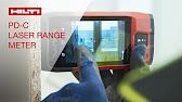 Anleitung teil 5: hilti laser distanzmessgerät pd cs pd c volumen