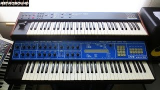 PPG wave 2.2 Synthesizer (1982) sound demo (Depeche Mode, Art Of Noise)
