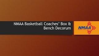 Basketball Coaches Box Rules Presentation