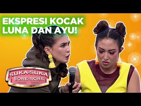 Karaoke Challenge! Ekspresi Kocak Luna Dan Ayu Bikin Ngakak - Suka Suka Sore Sore (29/1)