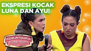 Gambar cover Karaoke Challenge! Ekspresi Kocak Luna Dan Ayu Bikin Ngakak - Suka Suka Sore Sore (29/1)