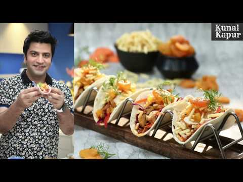 Parsi Phulka Tacos | Salli Boti Zardaloo | Kunal Kapur Recipes | Chef Kapoor पारसी फुल्का टाकोस
