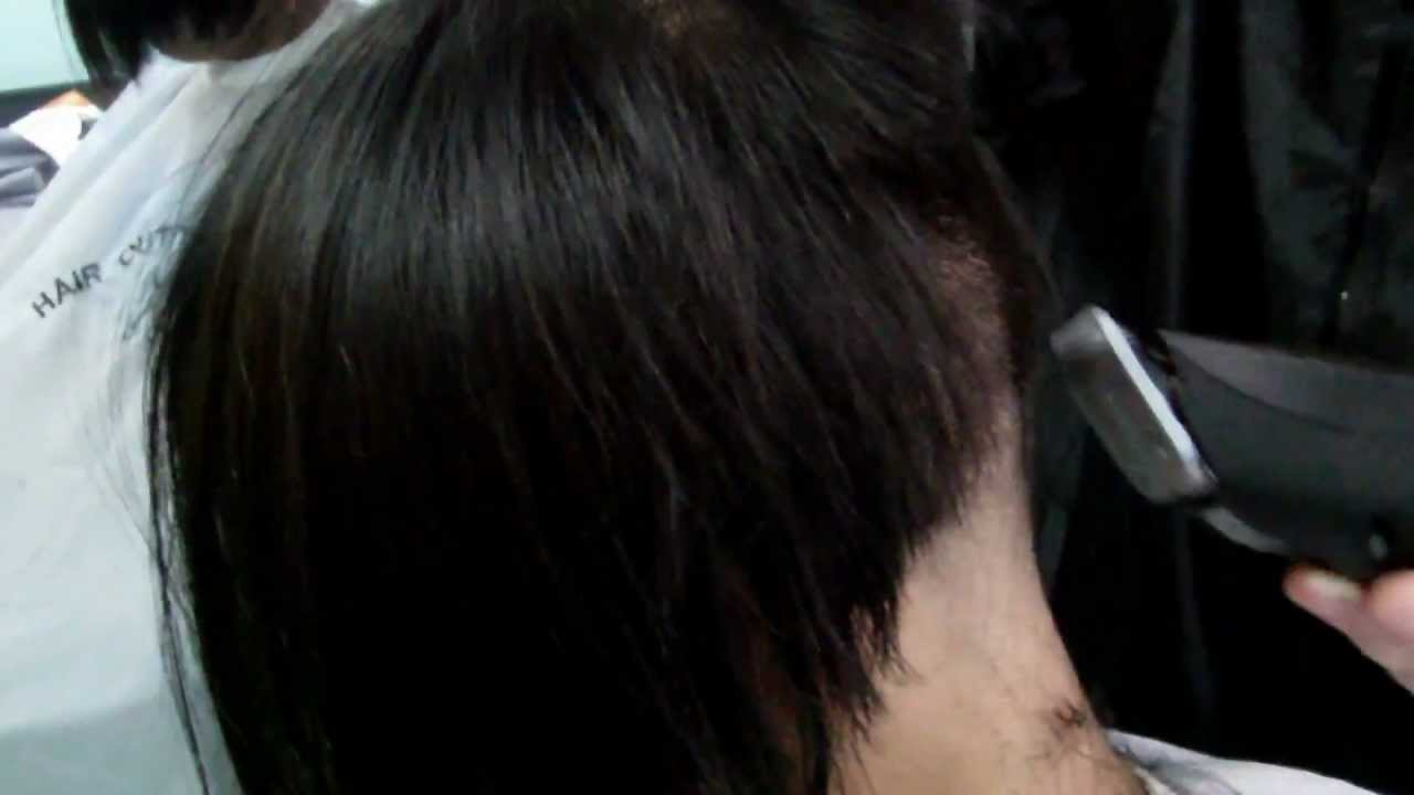Clipper Nape Hight Cut YouTube