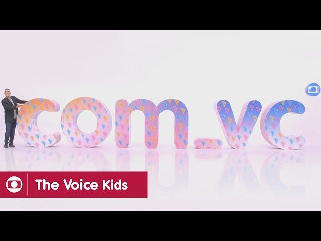COM_VC a gente faz o The Voice Kids!