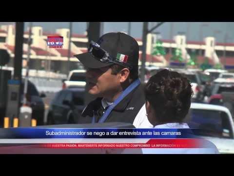Aduana Extorsiona a Paisanos en la frontera de Nuevo Laredo