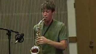 Adam plays Jazz Sax
