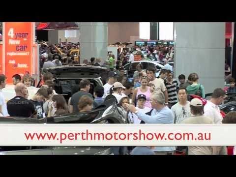 PERTH MOTOR SHOW 2011 - LIVE