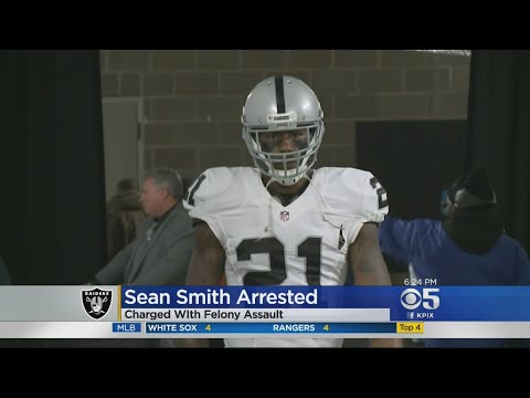 Oakland Raiders Cornerback Sean Smith Arrested On Felony Assault And Battery Charges