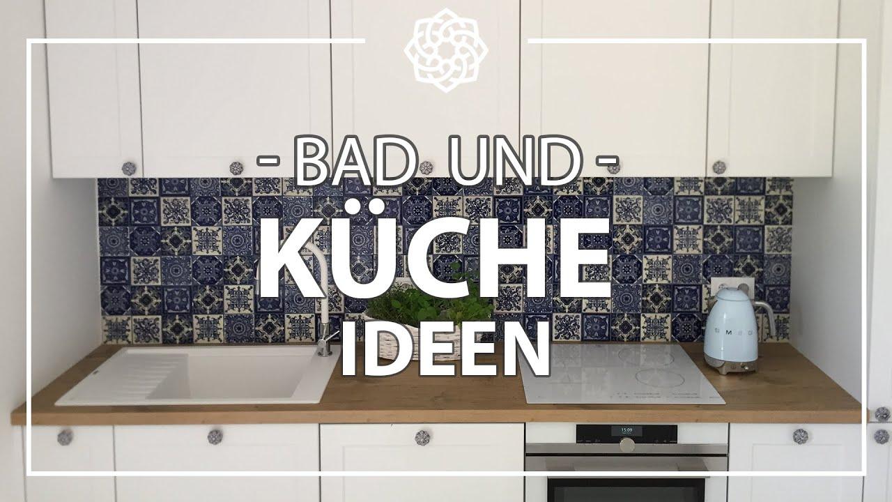 Küche Fliesen Wand. Wasserhahn Küche Spüle Ganz Kleine Weiße ...