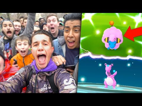 I CAUGHT THE *RAREST SHINY* POSSIBLE on Pokémon Go Community Day!
