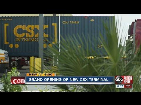 New CSX rail hub to create thousands of jobs