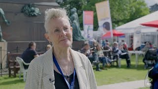 Vivian French Interview at the Edinburgh International Book Festival