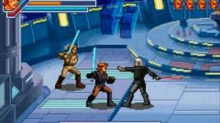 Star Wars Episode 3 The Game Obi-Wan And Anakin Vs Dooku