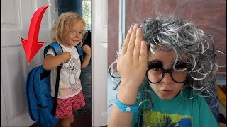 Back to school | Anabella se duce la scoala fara rechizite | Anabella Show