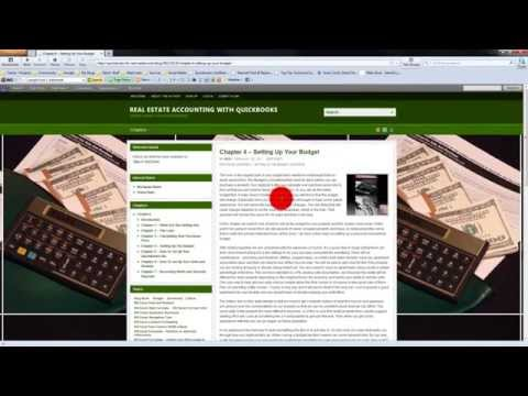 Real Estate Accounting With QuickBooks