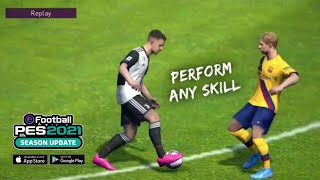 How to Perform any SKILL in PES 20 Mobile