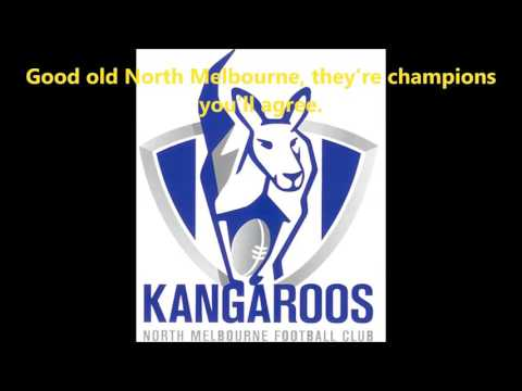 North Melbourne theme song (Lyrics) AFL Sing-A-Long