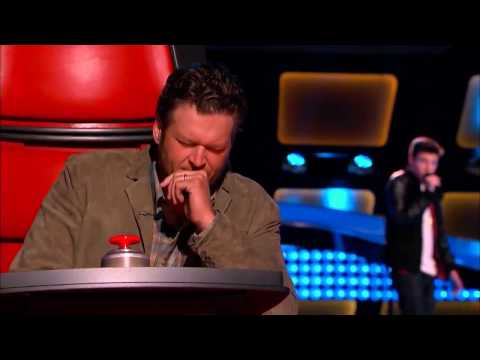 The Voice 2014 Blind Audition   Justin Johnes  'Let Her Go'
